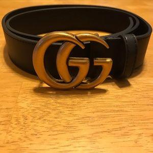 GG Black Classic Belt